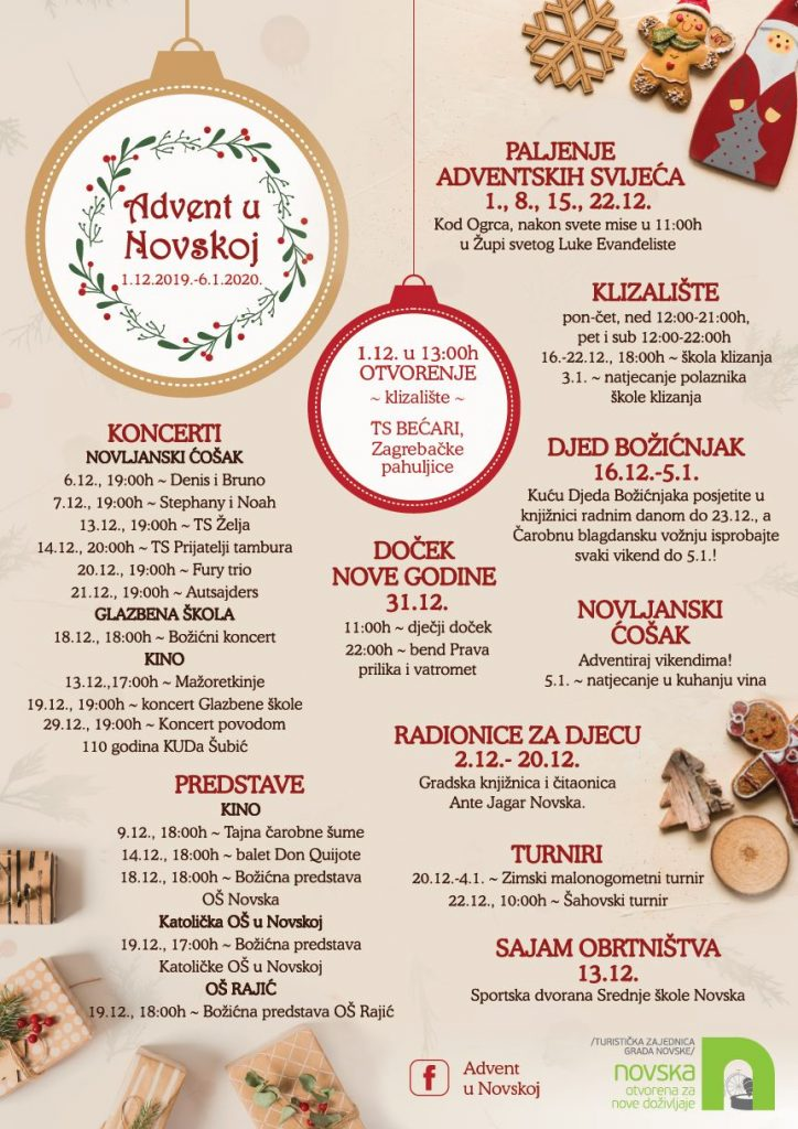 Advent u Novskoj 2019.