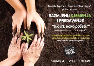 Razmjena sjemenja biovrt
