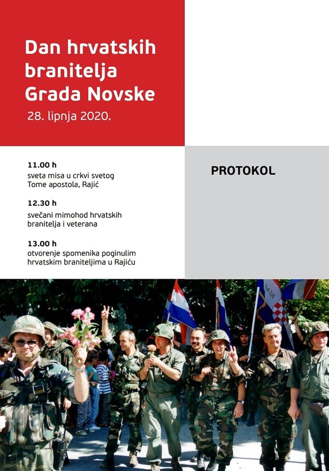 Dan hrvatskih branitelja Grada Novske