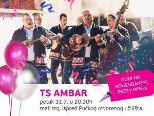 rođendanski party rpn-a