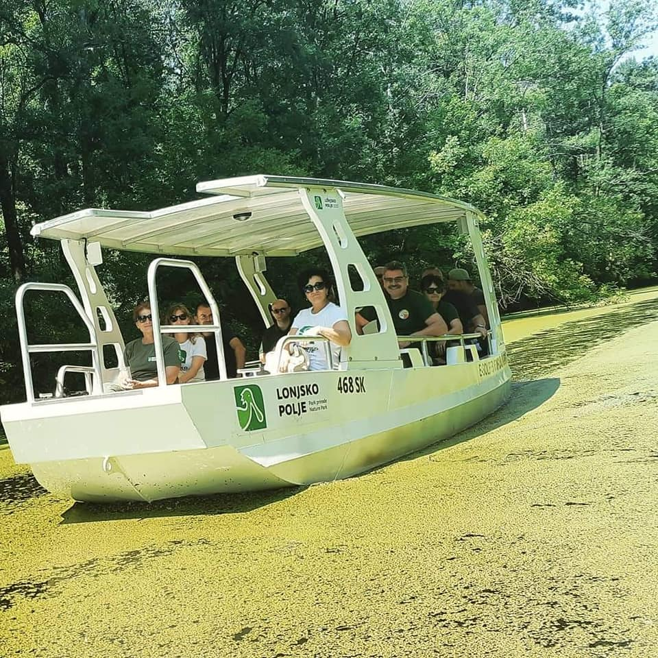 vožnja solarnim čamcem